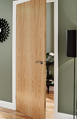 Oak Veneer Interior Door